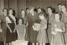 Holcomb Girl Scouts, 1957
