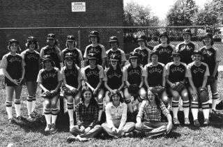 Pierce baseball, circa 1980s