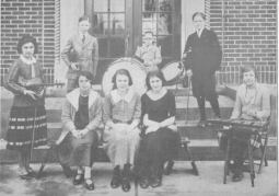 St. Mary's of Redford first orchestra, 1923