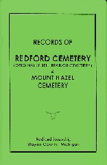 Records of Redford Cemetery and Mount Hazel Cemetery Written by Marjoria Norris Beavis in 1939.