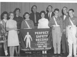 Stuckey Safety Patrol, 1961-1962