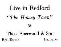 1924 Real Estate Ad
