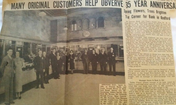 Detroit Bank and Trust article