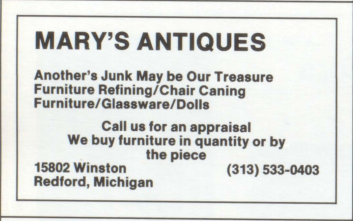 1983 RU yearbook ad winston house