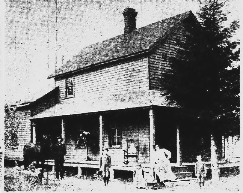 shear house possibly built in 1893